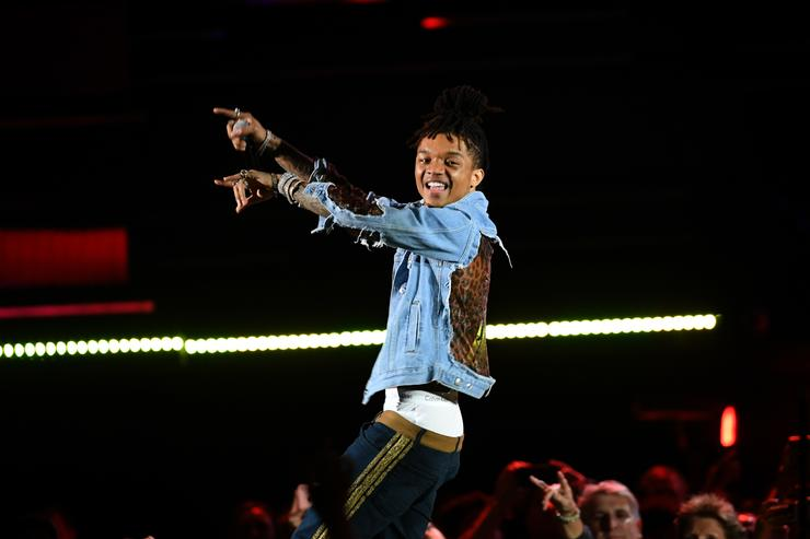 Swae Lee of Rae Sremmurd performs performs onstage during the 2018 iHeartRadio Music Festival at T-Mobile Arena on September 21, 2018 in Las Vegas, Nevada