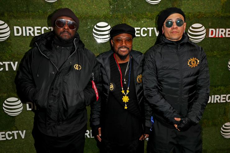 will.i.am, apl.de.ap, and Taboo of Black Eyed Peas stop by DIRECTV Lodge presented by AT&T during Sundance Film Festival 2018 on January 19, 2018 in Park City, Utah