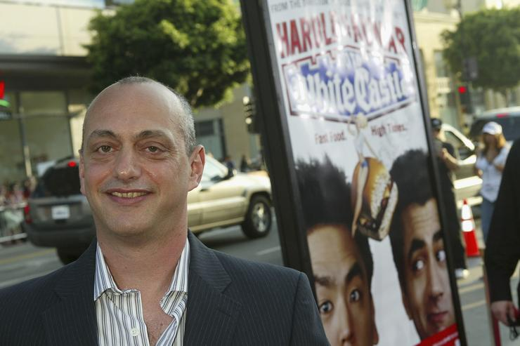 Director Danny Leiner arrives at the World Premiere of 'Harold & Kumar Go to White Castle' at the Grauman's Chinese Theatre on July 27, 2004 in Hollywood, California.