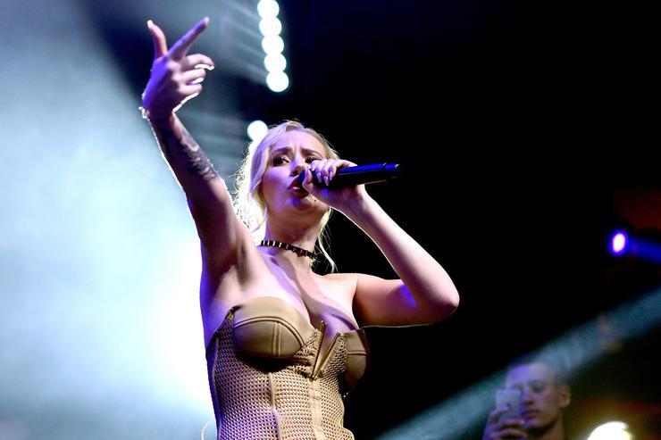 Iggy Azalea performs onstage during the 2016 MAXIM Hot 100 Party at the Hollywood Palladium on July 30, 2016 in Los Angeles, California