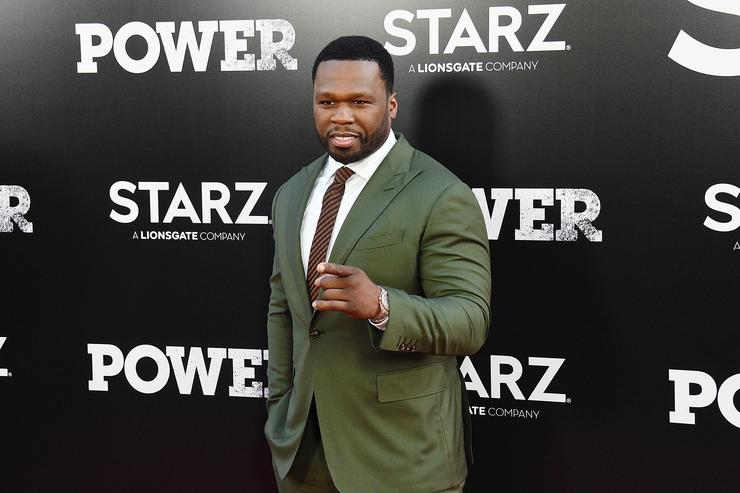 Curtis '50 Cent' Jackson attends the 'POWER' Season 5 Premiere at Radio City Music Hall on June 28, 2018 in New York City