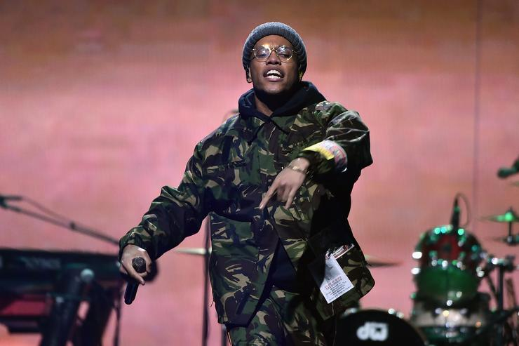 Anderson .Paak performs onstage during the 4th Annual TIDAL X: Brooklyn at Barclays Center of Brooklyn on October 23, 2018 in New York City