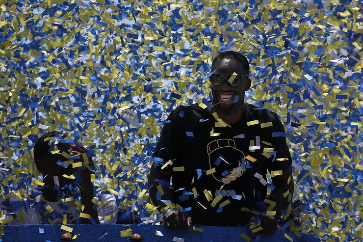 Warriors, Draymond Green mock Fergie with remix challenge