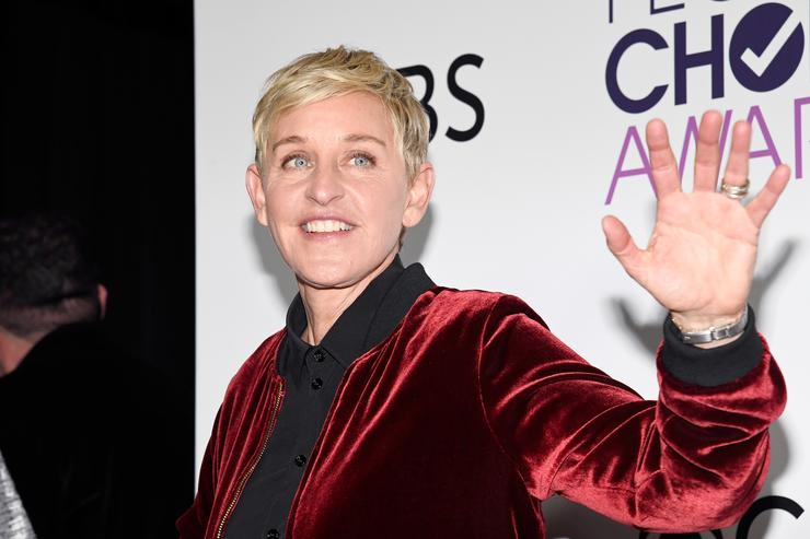 Ellen Degeneres, winner of mulitple awards, poses in the press room during the People's Choice Awards 2017 at Microsoft Theater on January 18, 2017 in Los Angeles, California