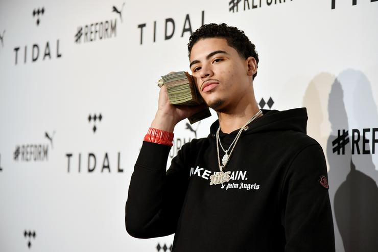 Jay Critch attends the 4th Annual TIDAL X: Brooklyn at Barclays Center of Brooklyn on October 23, 2018 in New York City.