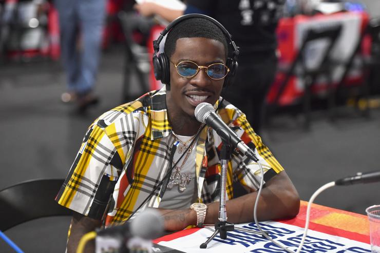 Rich Homie Quan attends day one of the 2018 BET Awards Radio Remotes on June 22, 2018 in Los Angeles, California.