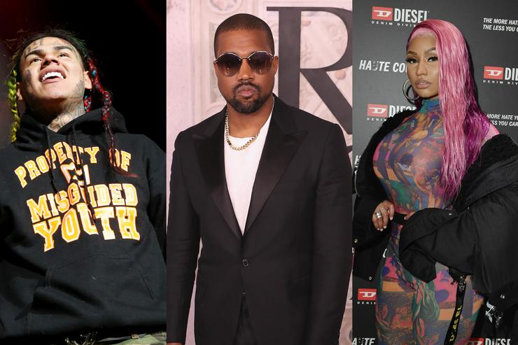 Shots Reportedly Fired During Kanye West, 6ix9ine & Nicki Minaj Video Shoot