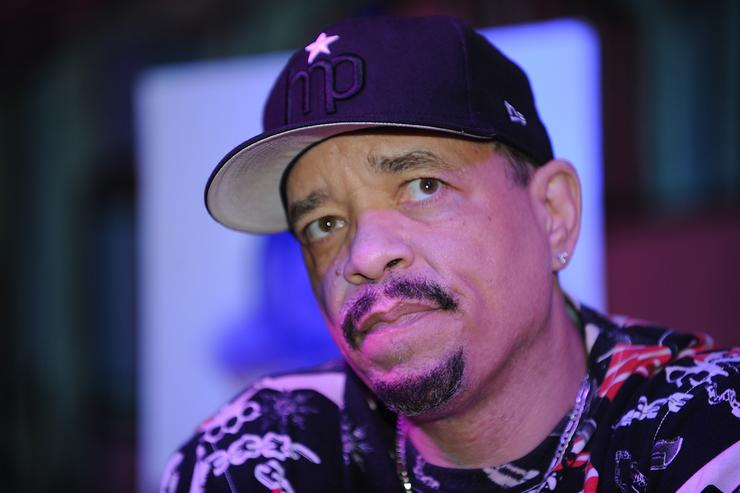 Ice-T attetnds the CBGB Music & Film Festival 2013 - By Invitation Only Q&A With ICE-T on October 12, 2013 in New York City