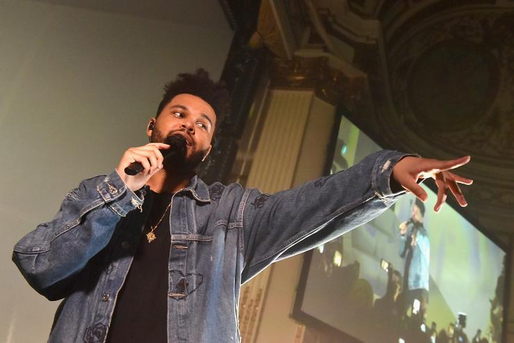 The Weeknd performs onstage during Harper's BAZAAR Celebration of 'ICONS By Carine Roitfeld' at The Plaza Hotel presented by Infor, Laura Mercier, Stella Artois, FUJIFILM and SWAROVSKI on September 8, 2017 in New York City.