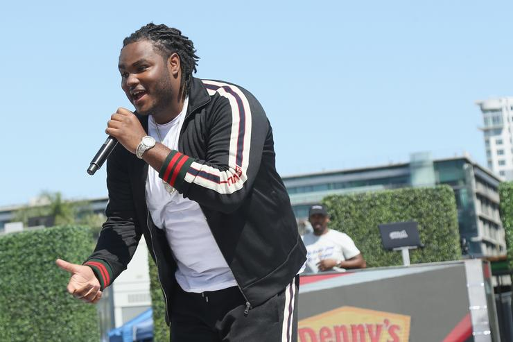 Recording artist Tee Grizzley performs onstage at day one of BETX Live!, presented by Denny's, during the 2017 BET Experience on June 22, 2017 in Los Angeles, California.