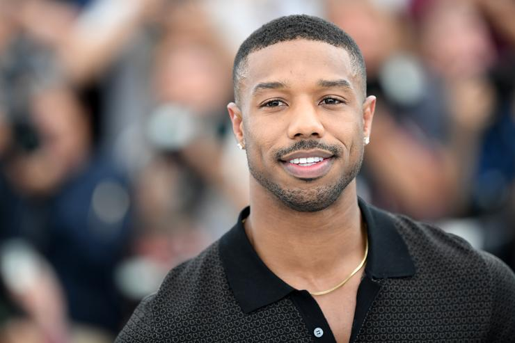 Actor Michael B. Jordan attends the photocall for 'Farenheit 451' during the 71st annual Cannes Film Festival at Palais des Festivals on May 12, 2018 in Cannes, France.