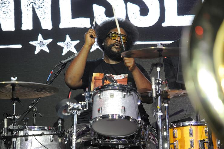 Quest Love performs with The Roots at the Six Degrees to Tennessee Roots Jam at New Daisy Theater on September 15, 2018 in Memphis, Tennessee.
