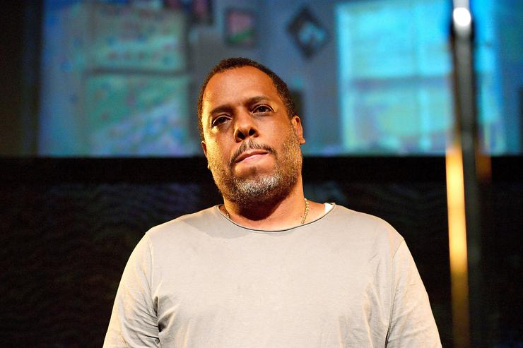 Music Producer No I.D. is seen onstage as Jay-Z introduces Vic Mensa at Mack Sennett Studios on July 13, 2017 in Los Angeles, California.