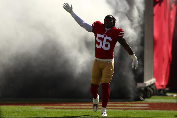 49ers Release Reuben Foster After Elissa Ennis Accuses Him of Domestic Violence