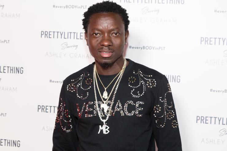 Michael Blackson attends the PrettyLittleThing x Ashley Graham Event at Delilah on September 24, 2018 in West Hollywood, California.