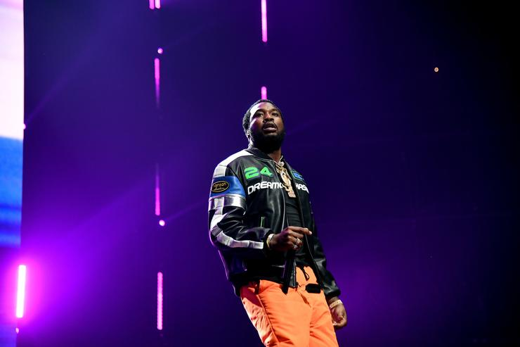 Meek Mill performs onstage during the 4th Annual TIDAL X: Brooklyn at Barclays Center of Brooklyn on October 23, 2018 in New York City.