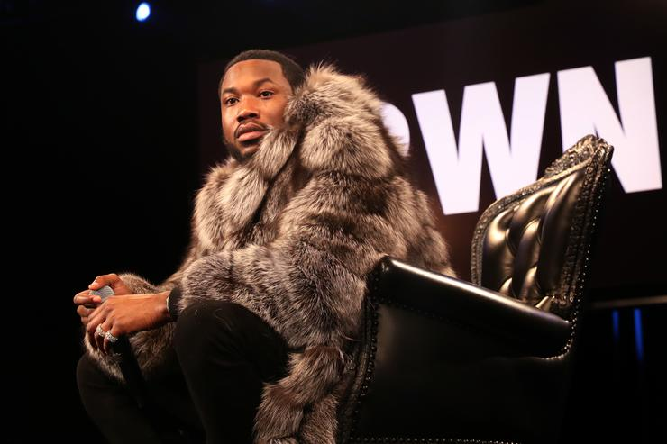 Meek Mill at CRWN interview 2018