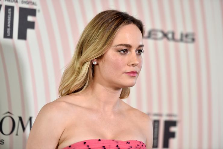 Brie Larson attends the Women In Film 2018 Crystal + Lucy Awards presented by Max Mara, Lancôme and Lexus at The Beverly Hilton Hotel on June 13, 2018 in Beverly Hills, California