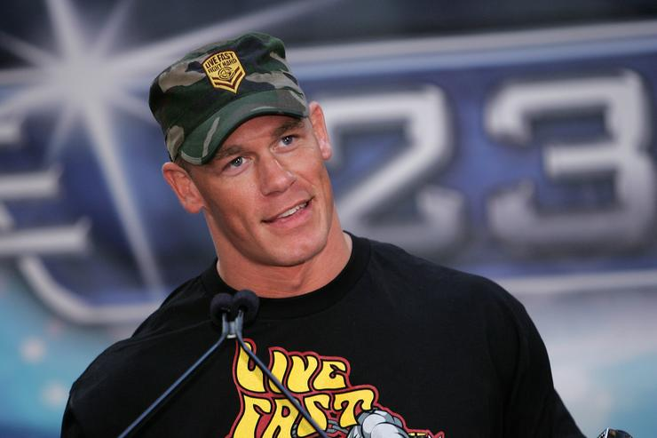 John Cena reveals his longer hairdo is making fans 'uncomfortable'