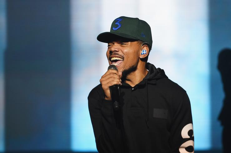 Chance The Rapper performs onstage during Chance The Rapper to Headline Spotify's RapCaviar Live In Brooklyn in Partnership with Live Nation Urban and Verizon on September 29, 2018 at Ford Amphitheater at Coney Island Boardwalk in Brooklyn, New York