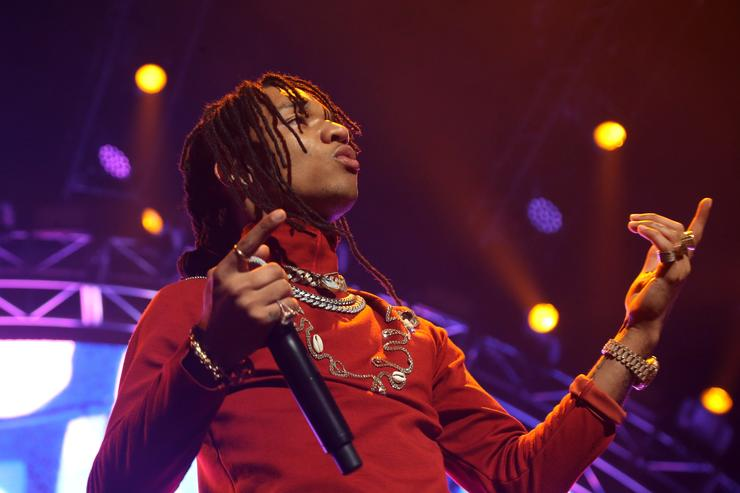 Swae Lee of Rae Sremmurd performs onstage at night three of the STAPLES Center Concert, sponsored by Sprite, during the 2017 BET Experience at Staples Center on June 24, 2017 in Los Angeles, California