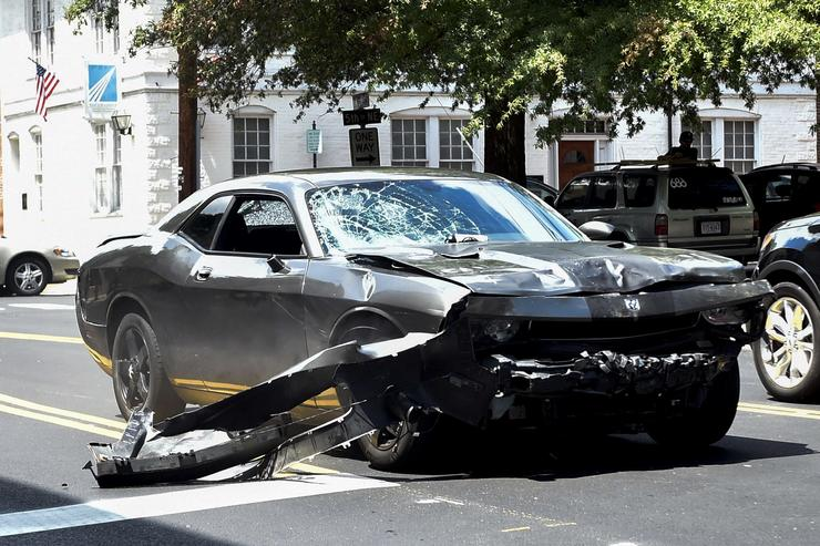 Man who drove into Charlottesville crowd convicted of first-degree murder
