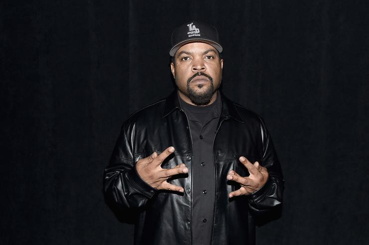 Ice Cube backstage during KENZO x H&M Launch Event Directed By Jean-Paul Goude' at Pier 36 on October 19, 2016 in New York City.