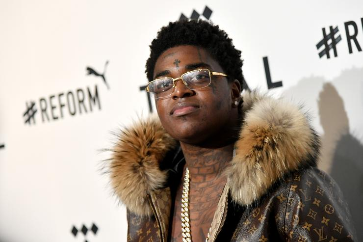 Kodak Black attends the 4th Annual TIDAL X: Brooklyn at Barclays Center of Brooklyn on October 23, 2018 in New York City