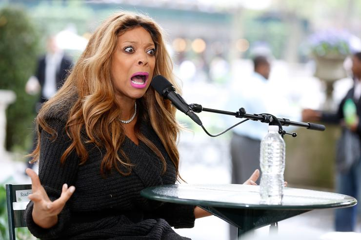 Wendy Williams speaks to the audience at The Bryant Park Reading Room on May 15, 2013 in New York City