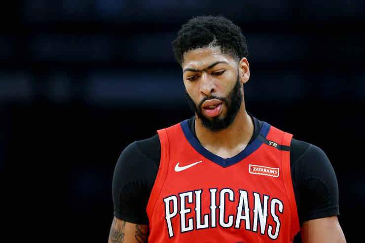 Anthony Davis Reacts To LeBron James' Comments About Potential Lakers Move