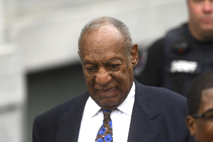Bill Cosby departs the Montgomery County Courthouse on the first day of sentencing in his sexual assault trial on September 24, 2018 in Norristown, Pennsylvania