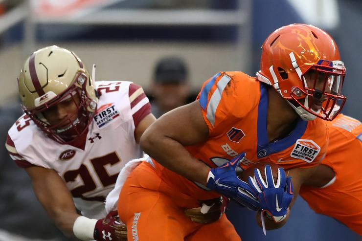 Weather cancels No. 23 Boise State's First Responder Bowl vs. Boston College