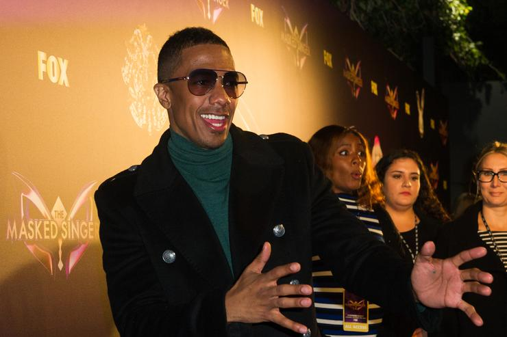 Nick Cannon attends Fox's 'The Masked Singer' Premiere Karaoke Event at The Peppermint Club on December 13, 2018 in Los Angeles, California