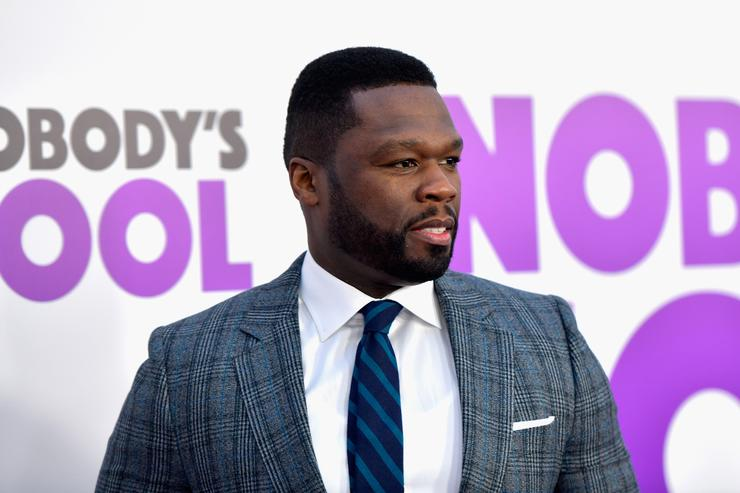 Curtis '50 Cent' Jackson attends the world premiere of 'Nobody's Fool' at AMC Lincoln Square Theater on October 28, 2018 in New York, New York. (