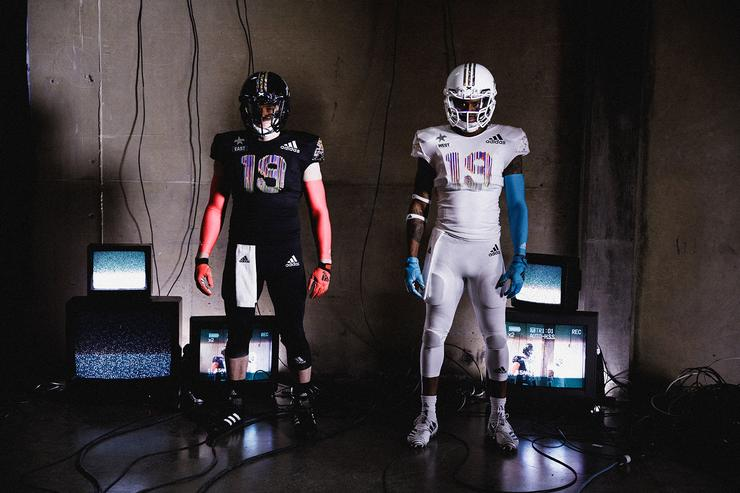 los angeles ec171 bfadc Adidas Adizero 8.0, Freak Ultra  Primeknit Uniforms Unveiled Before 2019  All-American Bowl