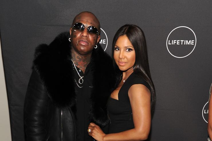 Birdman and Toni Braxton attends Lifetime's Film,'Faith Under Fire: The Antoinette Tuff Story' red carpet screening and premiere event at NeueHouse Madison Square In New York, NY on January 23, 2018