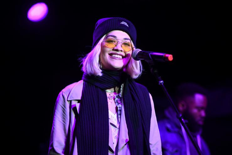 Rita Ora performs onstage during the One Love Malibu Festival at King Gillette Ranch on December 02, 2018 in Malibu, California