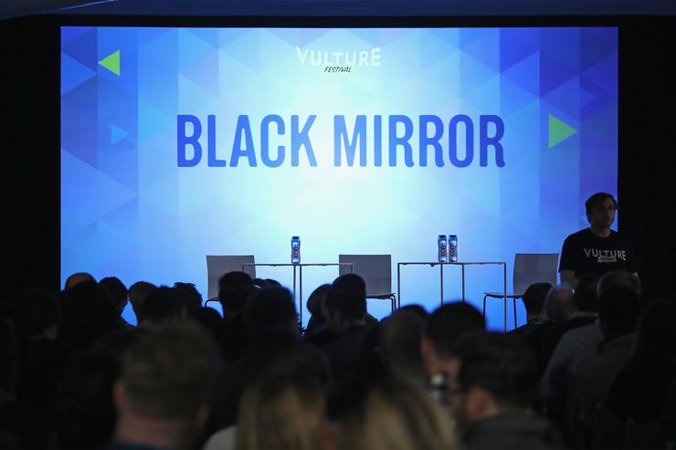 Guests fill the audience for the Black Mirror panel during the 2017 Vulture Festival at Milk Studios on May 21, 2017 in New York City.