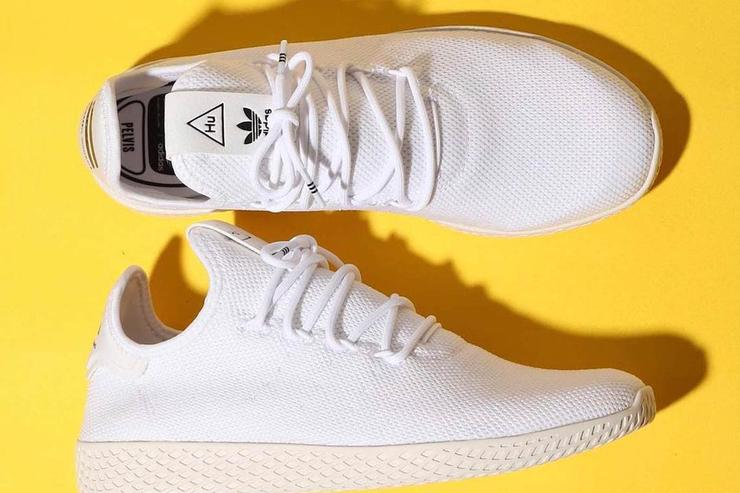 the best attitude 9d8b5 7a7b1 Pharrell Williams Continues Adidas Partnership With New Tenn