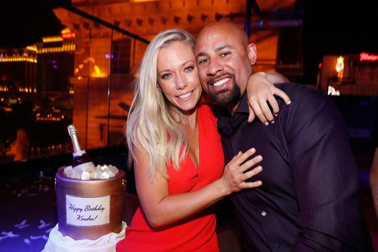 Kendra Wilkinson and Hank Baskett celebrates Wilkinson's birthday during the premiere celebration for WE tv's 'Kendra on Top' and 'Sex Tips for Straight Women from a Gay Man' on June 8, 2017 in Las Vegas, Nevada