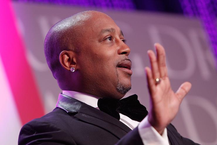 Daymond John speaks on stage at the Thurgood Marshall College Fund 27th Annual Awards Gala at the Washington Hilton on November 16, 2015 in Washington, DC
