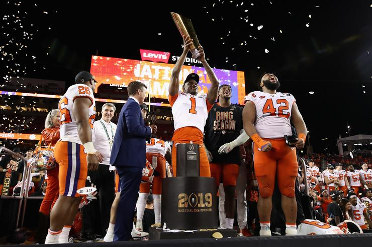 Clemson Destroys Alabama In College National Championship Blowout 5ab28d816