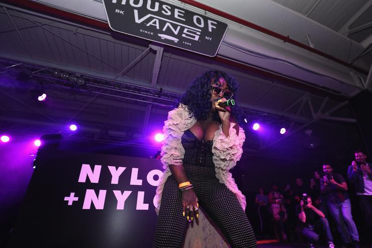 Cupcakke performs on stage at NYLON + NYLON Guys Celebrate the Music Issue at House of Vans Brooklyn on June 2, 2017 in New York City