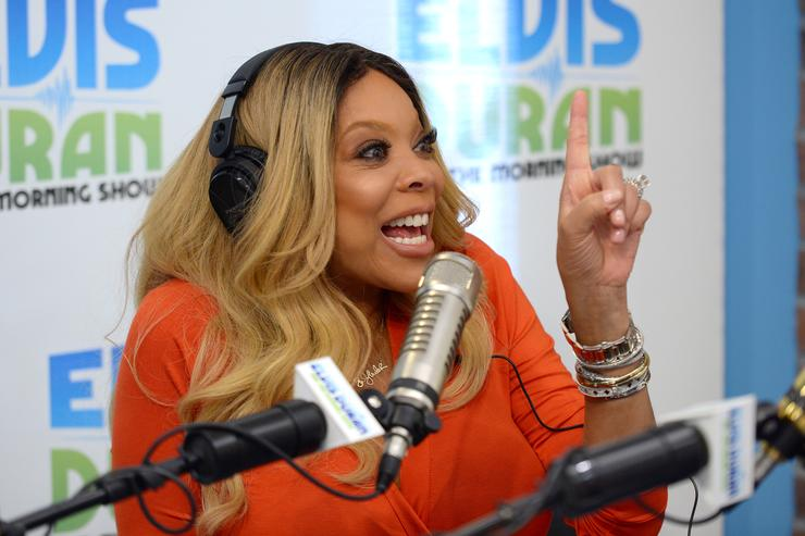 Wendy Williams visits The Elvis Duran Z100 Morning Show at Z100 Studio on September 8, 2015 in New York City