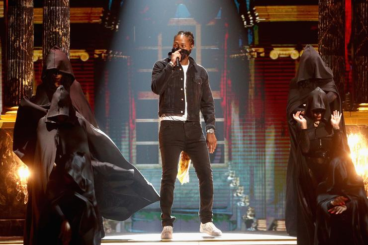 Future preforms onstage at 2017 BET Awards at Microsoft Theater on June 25, 2017 in Los Angeles, California