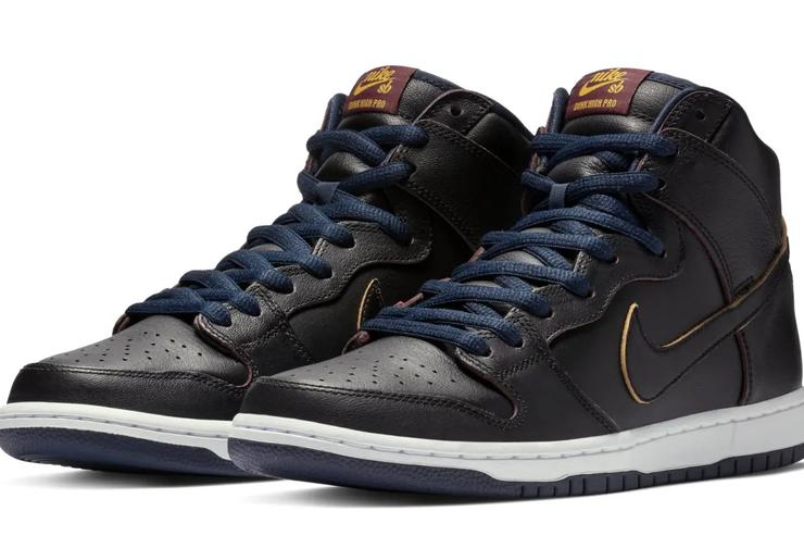 2168751ad9a607 Nba X Nike Sb Dunk High Cavaliers Detailed Images And Release Info