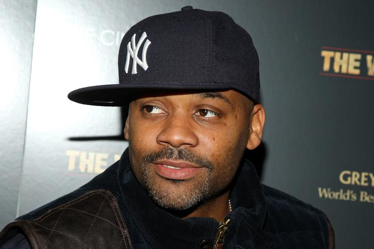 Damon Dash attends a special screening of 'The Wrestler' hosted by The Cinema Society and Entertainment Weekly at the Tribeca Grand Screening Room on December 8, 2008 in New York City