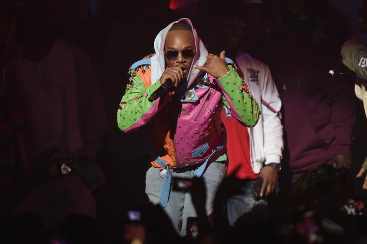 Cam'ron performs at Spotify's RapCaviar Live in New York at Hammerstein Ballroom on November 21, 2017 in New York City