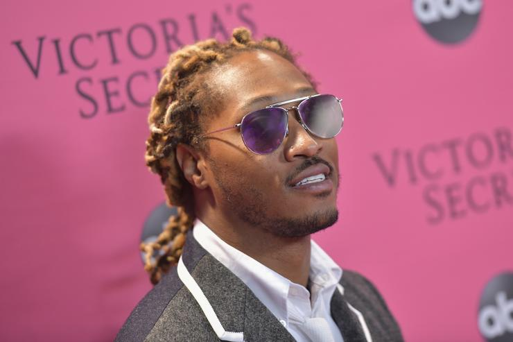Future attends the 2018 Victoria's Secret Fashion Show at Pier 94 on November 08, 2018 in New York City
