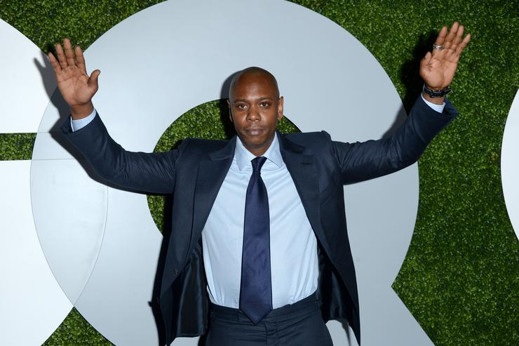 Comedian Dave Chappelle attends the 2014 GQ Men Of The Year party at Chateau Marmont on December 4, 2014 in Los Angeles, California.